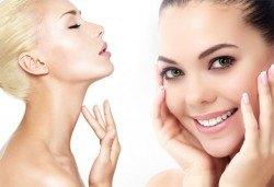Фотоподмладяване на лице/шия и деколте за заличаване на петна, ситни бръчки, белези от акне и капиляри от Дерматокозметични центрове Енигма - Снимка