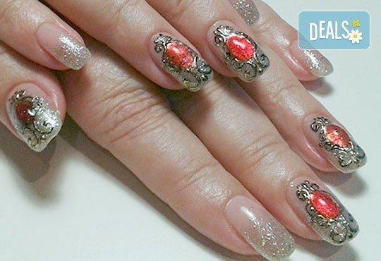 Нежни ръце и красиви нокти! Траен маникюр с най-новите гел лакове на Astonishing Nails и декорации по избор от Дерматокозметични центрове Енигма - Снимка 10