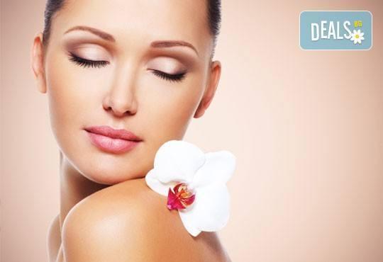 Дълбоко почистване на лице чрез 3 в 1 терапия с Herbal Active, мануална екстракция и безиглена мезотерапия от Енигма! - Снимка 3