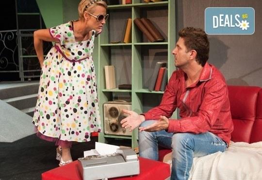 Асен Блатечки във великолепната комедия Бившата жена на моя живот на 30.10, от 19 ч, Театър Сълза и Смях - Снимка 4