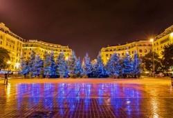 Нова година 2017 в Солун: 3 нощувки със закуски в City Hotel Thessaloniki 4*, транспорт