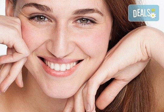 Ботокс терапия за лице с мезотерапия, пилинг и маска за жизнена кожа с младежки вид с изцяло натурална козметика в Sunflower Beauty Studio - Снимка 1