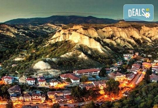 Екскурзия до Мелник, Рупите и Солун през октомври! 2 дни, 1 нощувка със закуска в Сандански и транспорт от Дари Травел! - Снимка 1