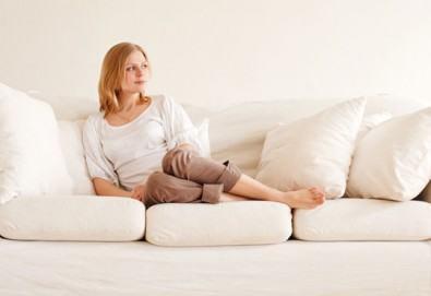 Погрижете се за меката мебел с пране на холна гарнитура до 6 седящи места и матрак или килим по избор от Професионално почистване Рего! - Снимка