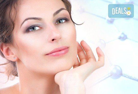 Ултразвуково почистване на лице с козметика Dermacode, серум със салицилова киселина и бонус: прахообразен пилинг с микродермабразио в Ивелина студио! - Снимка 1