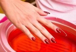 Парафинова терапия за ръце, фризьорски салон Ани