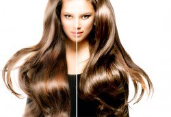 За ослепителна визия! Вземете измиване с професионални продукти KEUNE, полиране на косата, терапия по избор и прическа със сешоар или плитка в Ивелина студио! - Снимка