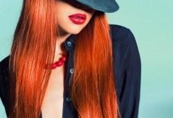 Нова прическа! Боядисване с боя на клиента, подстригване, кератинова терапия и прав сешоар в салон Diva! - Снимка