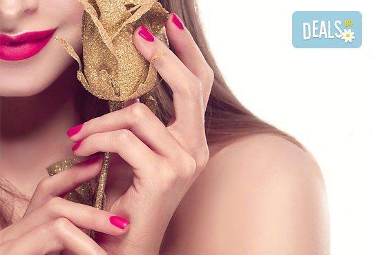 Перфектен маникюр! Маникюр с гел лак BlueSky + подарък сваляне на гел лак в BM Hair Studio - Снимка 1