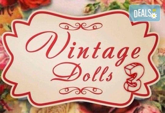 Очаровайте околните! Маникюр и/или СПА педикюр с гел лак SNB или Bluesky с две декорации с камъни от Vintage Dolls 3! - Снимка 2
