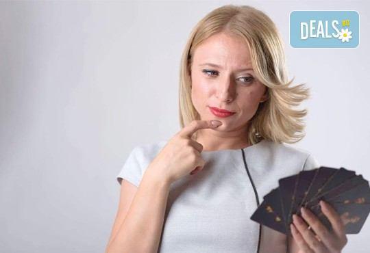 Надникнете в бъдещето си! Лична консултация - гледане на карти Десте в офиса на Академия Щастлива жена или онлайн по Skype от Здравка Атанасова! - Снимка 3
