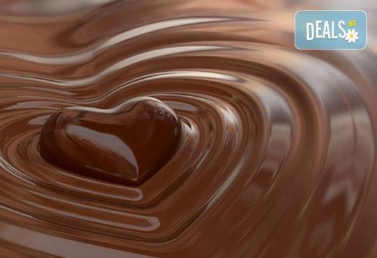 Шоколадова приказка в Wave Studio - НДК! 70 шоколадови минути с масаж на цяло тяло с шоколадов крем и зонотерапия - Снимка 2