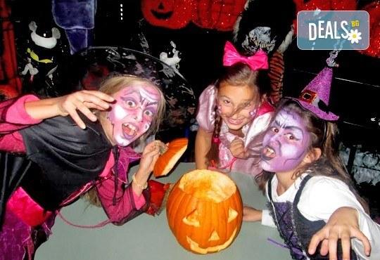 Неделно детско HALLOWEEN парти: два часа с аниматор Хелуин вещица, пица, атракциони, торта и бонбони на 30-ти октомври (неделя) от 18:30 часа! - Снимка 1