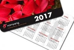 100 бр. календарчета с ламинат мат/ гланц, заоблени ъгли и снимка, Офис 2
