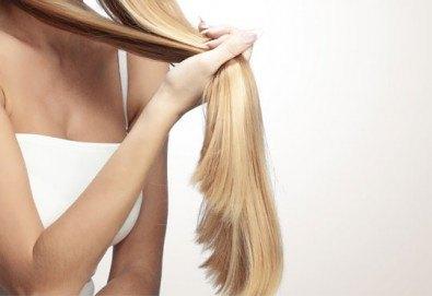 Спрете сезонния косопад! Дълбоко хидратираща терапия, подстригване и сешоар от салон Ванеси! - Снимка