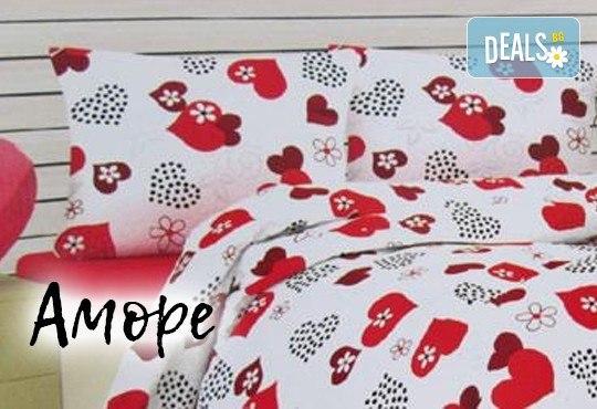 Лукс върху спалнята със спален комплект за двойно легло, изработен от хасе - 100% памук от Шико - ТВ! - Снимка 1