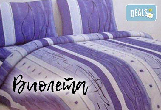 За спокоен сън! Вземете луксозен спален комплект за единично легло от хасе - 100% памук от Шико - ТВ! - Снимка 3