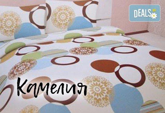 За сладки сънища! Луксозен спален комплект за приста, изработен от хасе - 100% памук от Шико - ТВ! - Снимка 2