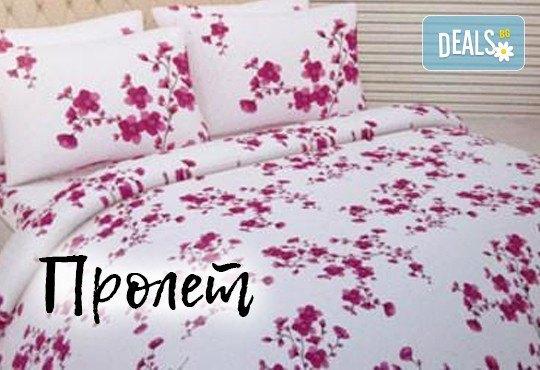 За сладки сънища! Луксозен спален комплект за приста, изработен от хасе - 100% памук от Шико - ТВ! - Снимка 7