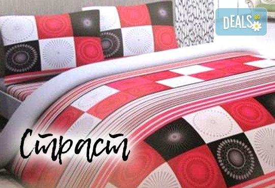 За сладки сънища! Луксозен спален комплект за приста, изработен от хасе - 100% памук от Шико - ТВ! - Снимка 1