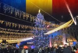 През декември в Букурещ, Румъния: транспорт и екскурзовод