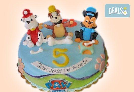 Детски торти MAX цветове с 2, 3 или 4 фигурки, фотодекорация и апликация по дизайн на Сладкарница Джорджо Джани! - Снимка 2