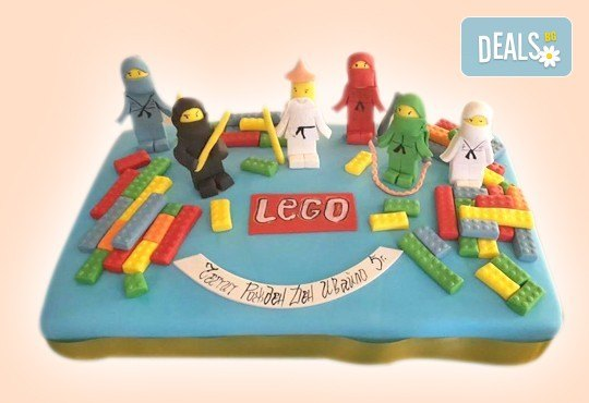 Детски торти MAX цветове с 2, 3 или 4 фигурки, фотодекорация и апликация по дизайн на Сладкарница Джорджо Джани! - Снимка 3