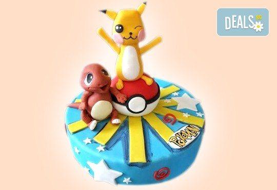Детски торти MAX цветове с 2, 3 или 4 фигурки, фотодекорация и апликация по дизайн на Сладкарница Джорджо Джани! - Снимка 5