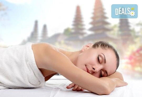 Насладете се на 60-минутен екзотичен балийски масаж с шест различни масажни техники в Студио Denny Divine! - Снимка 1