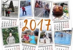 Голям 13 листов стенен календар с 12 Ваши снимки от Офис 2