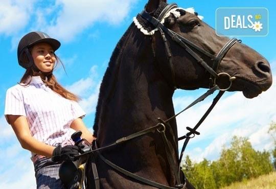 Подарете си различно преживяване с 45 минути конна езда с водач и бонус - стрелба с лък от конна база София – Юг, Драгалевци! - Снимка 1