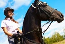 45-минутна конна езда с водач и бонус от конна база София Юг, кв. Драгалевци