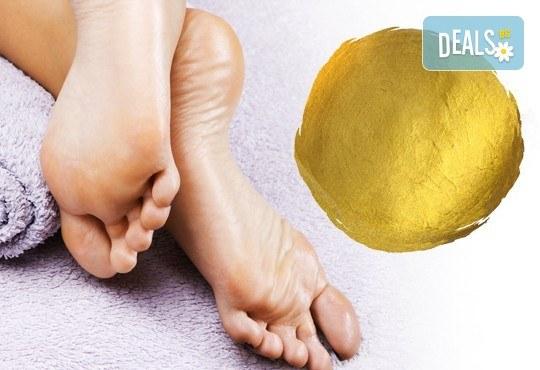 Златен масаж на лице, шия и деколте или цяло тяло или пакет от две процедури за лице и тяло от студио за красота Denny Divine - Снимка 2
