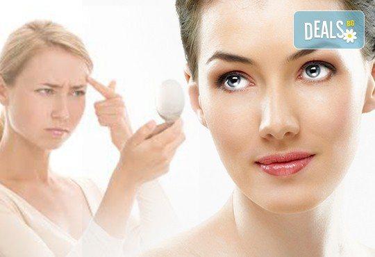 Медицинско почистване на лице с екстракция, козметика на GIGI, D-r Belter, Glori или Resultime и ампула чист хиалурон от Sin Style - Снимка 1