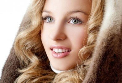 Мануално почистване на лице с медицинската козметика Glory и почистване и оформяне на вежди в Студио за красота SUNCHITA - Снимка