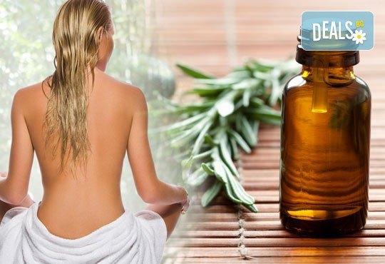 """Лечебен детоксикиращ масаж """"Ин-Ян"""", ароматерапия на цяло тяло и компрес с лечебна луга или мокса в Wellness Center Ganesha! - Снимка 2"""
