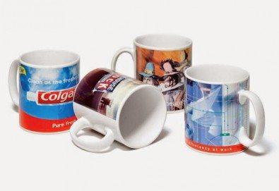 Подарете с любов! 1 или 3 броя Семейна чаша със снимка и надпис, предложение от Офис 2! - Снимка