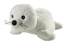 Плюшено нагряващо се тюленче от Warmies - Снимка