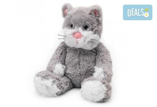 Плюшенa нагряващa се Котка Cozy Plush Cat от Warmies - Снимка 1