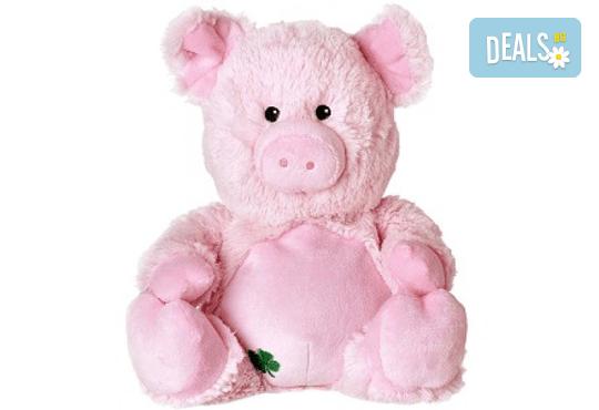 Плюшено нагряващо се Прасе Plush Lucky Pig от Warmies - Снимка 1