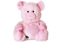 Плюшено нагряващо се Прасе Plush Lucky Pig от Warmies - Снимка