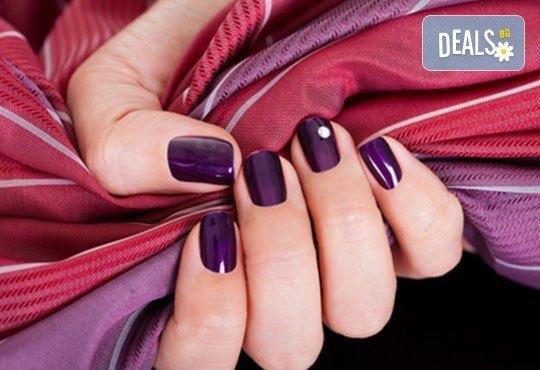 Украсете ноктите си с бляскавите цветове на гел лаковете на Bluesky и 2 декораци в салон Лаура стайл! - Снимка 2