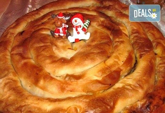За Коледа и Нова година! Баница с късмети, Тиквеник и Питка с паричка - вземете ги от Работилница за вкусотии РАВИ - Снимка 2
