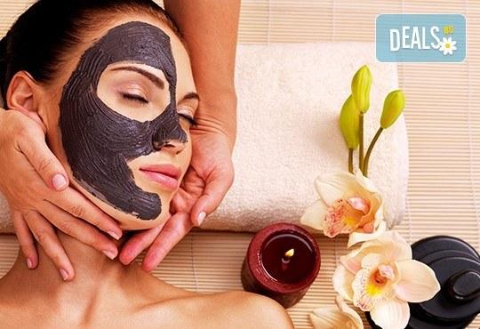 Класически масаж на цяло тяло с шампанско и ягоди и шоколадова маска на лице или масаж на лице, шия и деколте в салон за красота ФЛЕШ - Снимка 1
