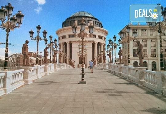Нова година в Охрид, Македония: 1 нощувка със закуска и новогодишна вечеря, транспорт и посещение на Скопие! - Снимка 7