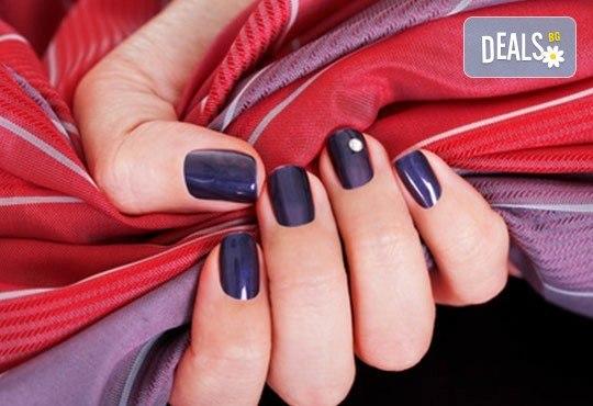 Украсете ноктите си с бляскавите цветове на Bluesky и 2 декораци в студио за маникюр Ели - Снимка 1