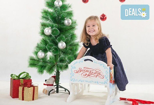Направете незабравим подарък на себе си или любим човек! Професионална Коледна фотосесия в студио и обработка на всички заснети кадри от Chapkanov photography! - Снимка 7