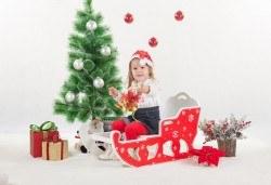 Коледна фотосесия в студио и обработка на всички заснети кадри, Chapkanov photography