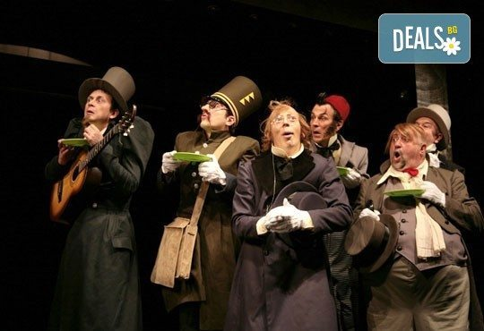 Гледайте Калин Врачански и Мария Сапунджиева в Ревизор в Театър ''София'' на 16.12. от 19 ч., билет за един - Снимка 5