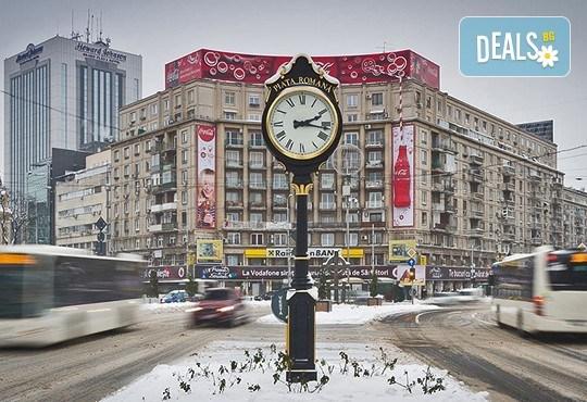 Зимна приказка в Букурещ, Бран, Синая и Брашов: 2 нощувки със закуски, транспорт и екскурзовод! - Снимка 1